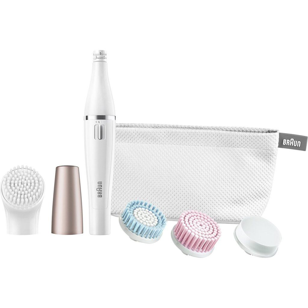 Braun Face 851 Mini-Facial Electric Hair Removal Epilator for Women